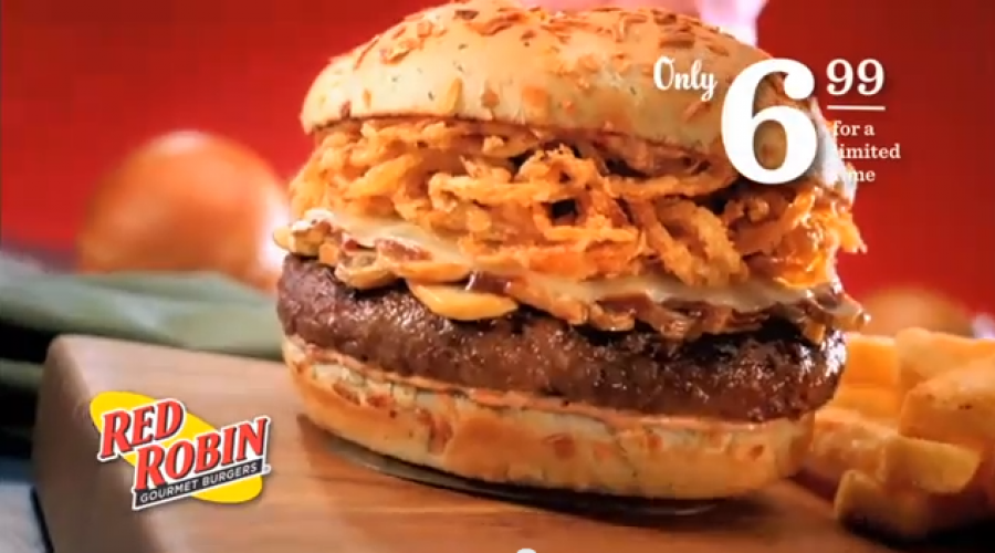 Ad Review Prediction: Red Robin's New CMO Cooks up Plan to Re-energize Brand