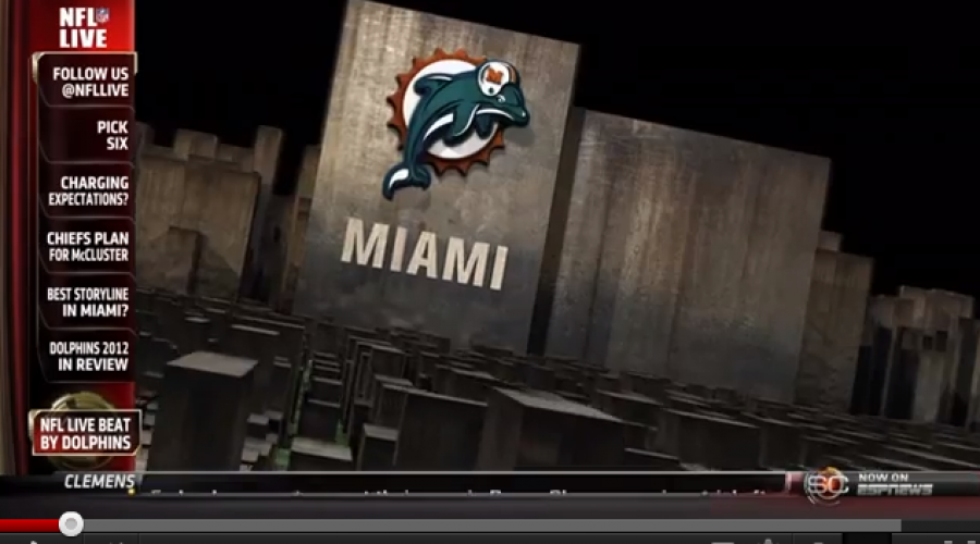 Miami Dolphins 2012 will be looking for an ad agency by 2013