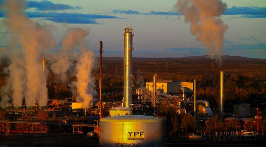 YPF oil company spills into ad review
