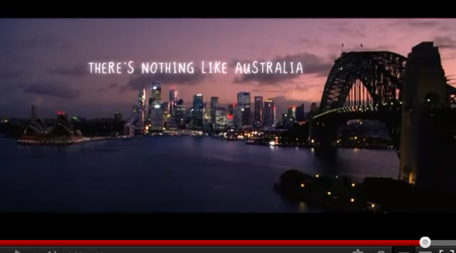 Tourism Australia in global creative review