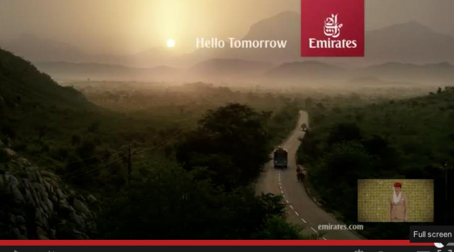$350 million Global media review: Emirates