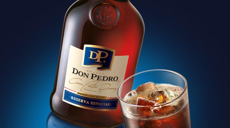 In play: Don Pedro, Presidente & Azteca de Oro brandies