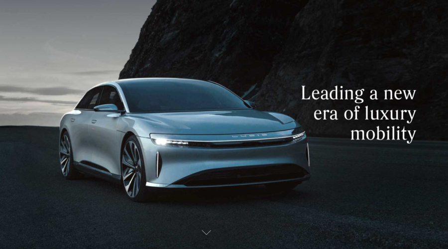 Lucid Motors is coming after Tesla: They may need advertising on their side
