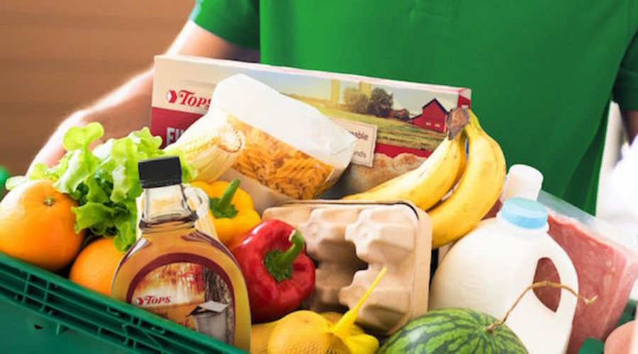 2 e-commerce grocery services combine to create ad account