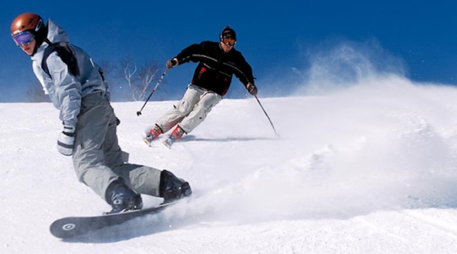 Bringing tech marketing chief to the slopes is a stroke of genius