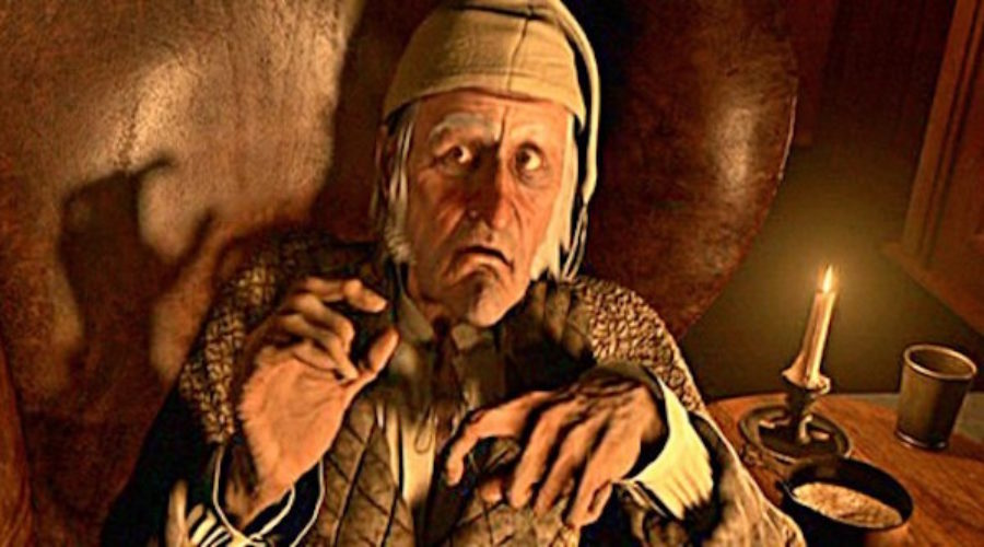 The Scrooge in this client thee could be an opportunity