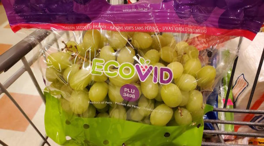 Scaring folks with Ebola & Covid with grapes