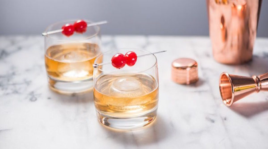 A Gin & Whiskey Cocktail You'll Want to Pitch