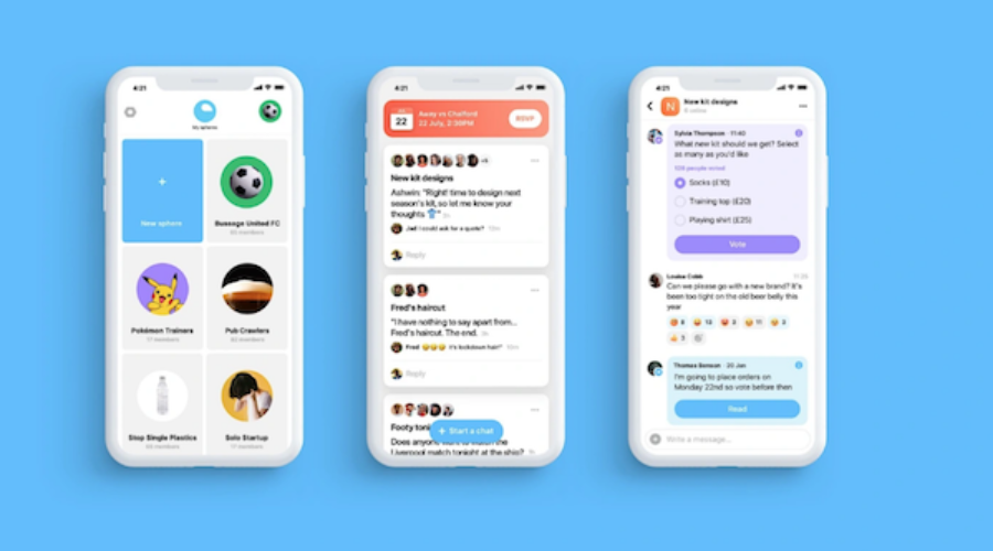 A chat app just got really deep pockets